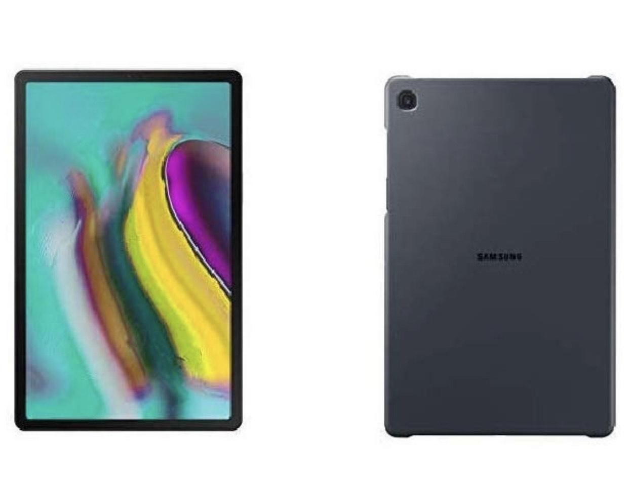 Samsung Galaxy Tab S5e T720 (10,5 Zoll) Wi-Fi schwarz + Slim Cover