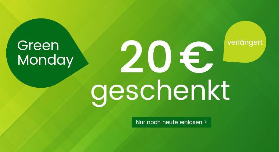 Universal 20€ Gutschein, MBW 100€ (auch auf Technik)