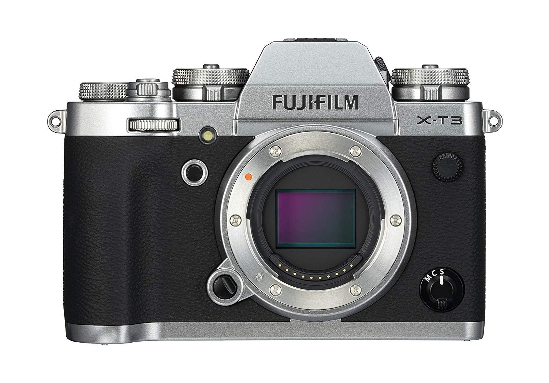 Fujifilm X-T3 Systemkamera Gehäuse silber