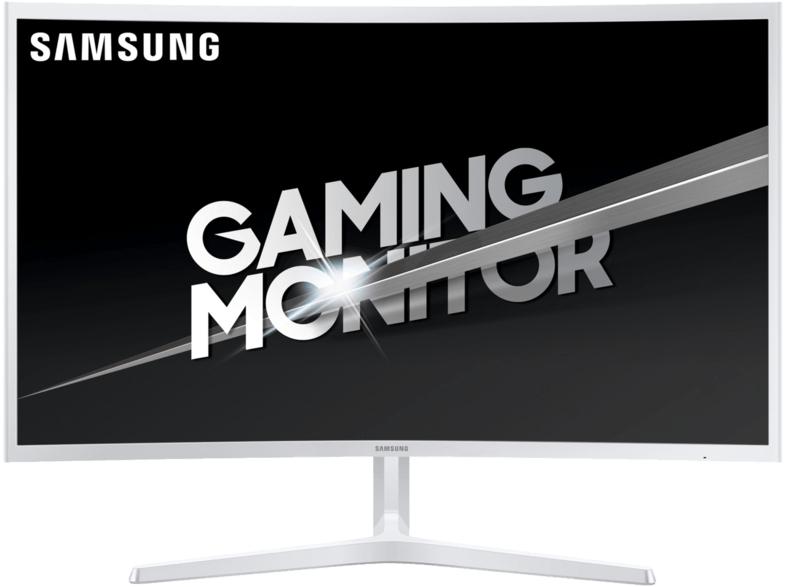 SAMSUNG Gaming Monitor C32JG53 31.5 Zoll, silber (LC32JG53FDUXEN)