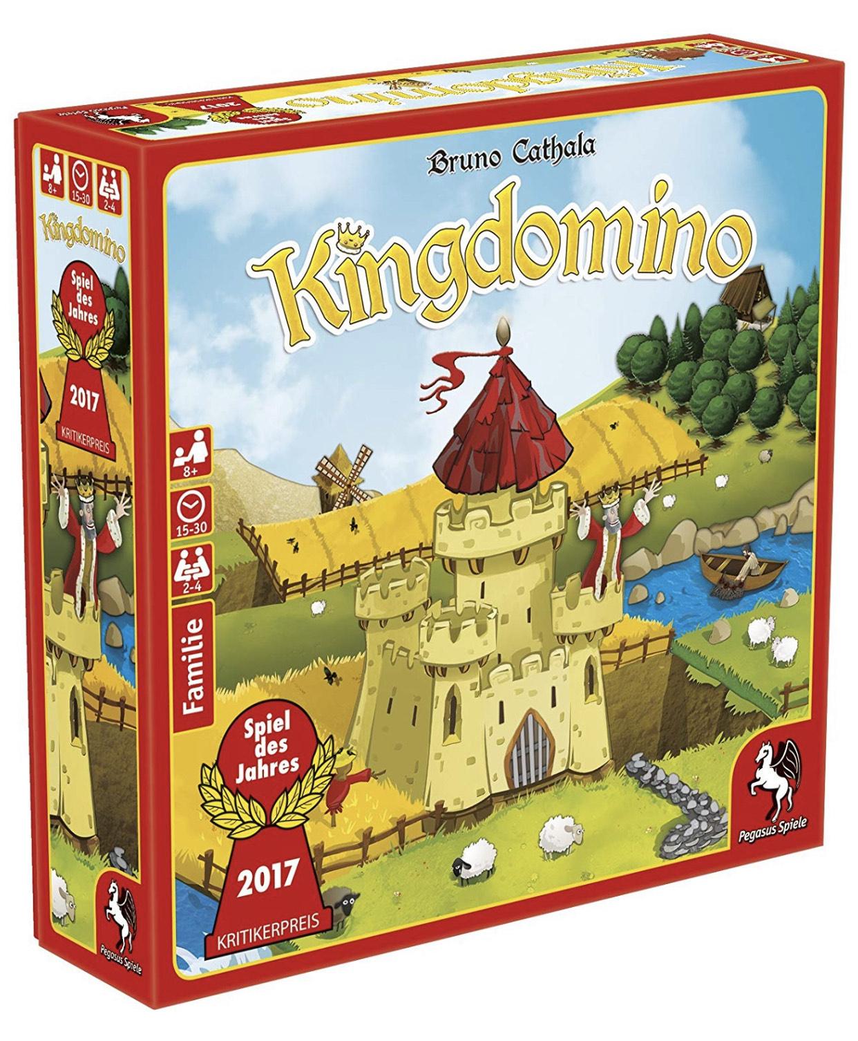 Pegasus Spiele - Kingdomino (Spiel des Jahres 2017) im Blitzangebot