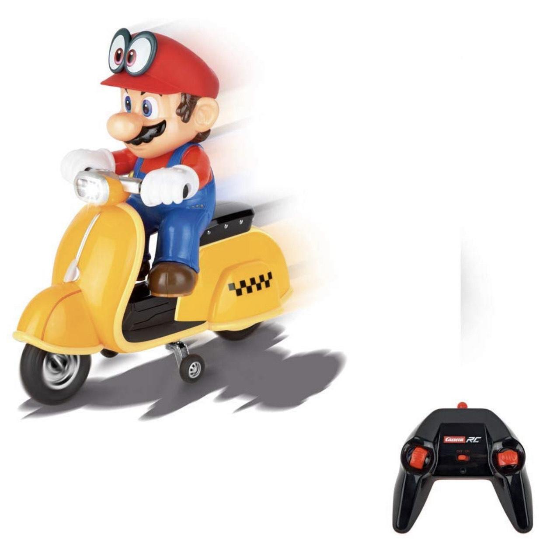 Carrera RC Super Mario Odyssey Scooter – Ferngesteuerter Elektro-Roller