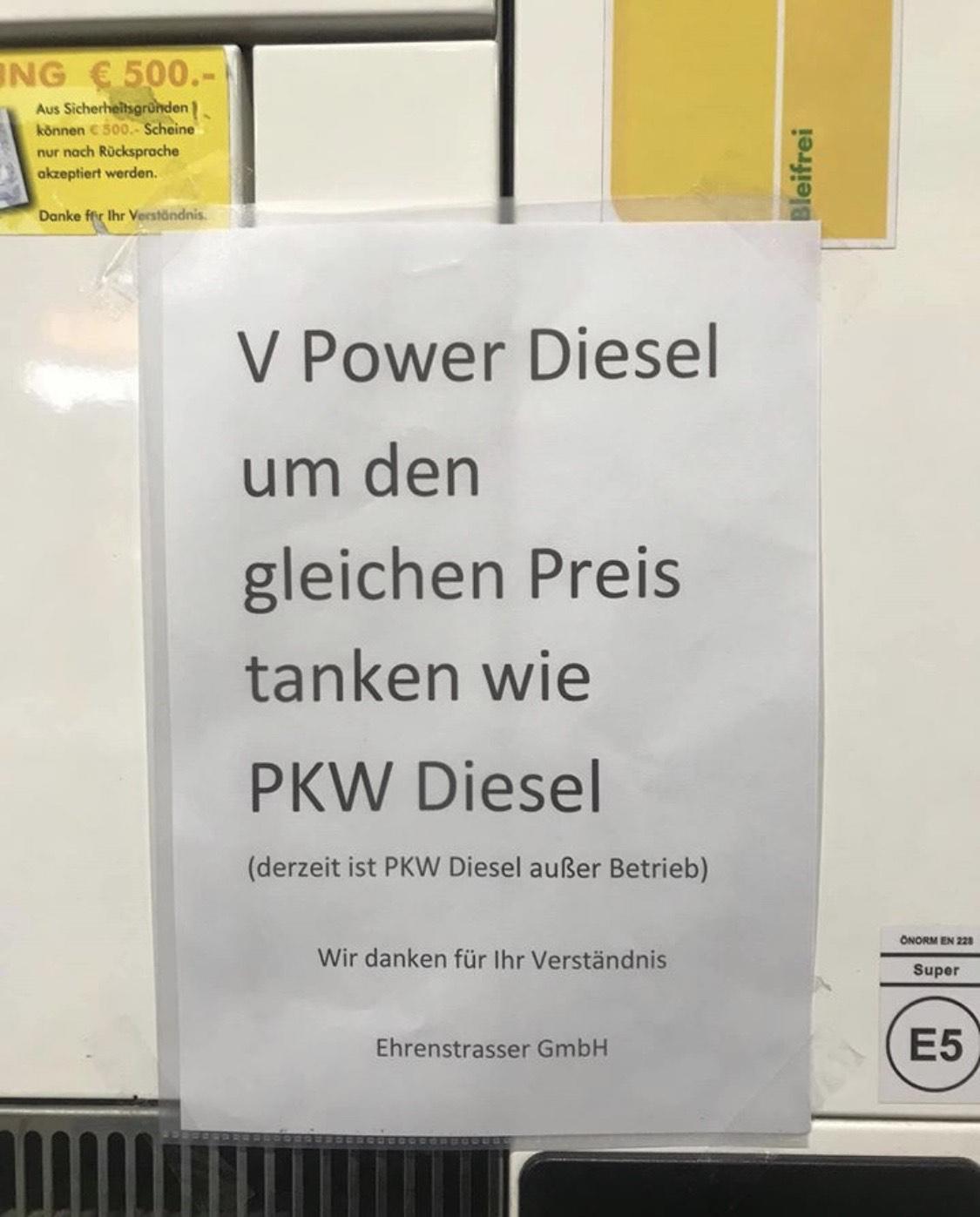 Shell Krems-Stein V-Power Diesel