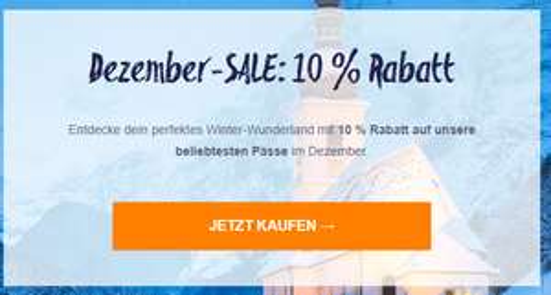 interrail.eu -10% auf Interrail-Tickets