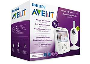 Philips AVENT SCD843/26 Video-Babyphone, 3,5 Zoll Farbdisplay