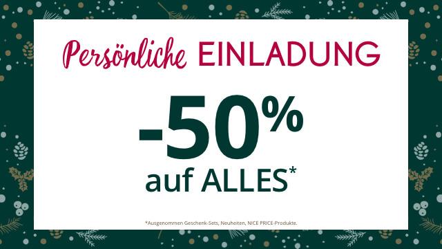[Yves] -50% Rabatt auf ALLES & GRATIS Kuscheldecke & GRATIS Versand & 15€ Rabatt ab 60€