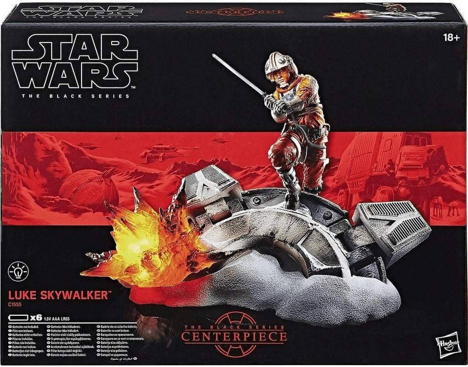 Hasbro Star Wars Black Series - Luke Skywalker Diorama Set (C1555)