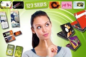 """Skins für Handy, Laptop etc. - günstig aus dem Ausland oder mit dem heutigen Citydeal """"20€ 123skins-Gutschein für 8€"""""""