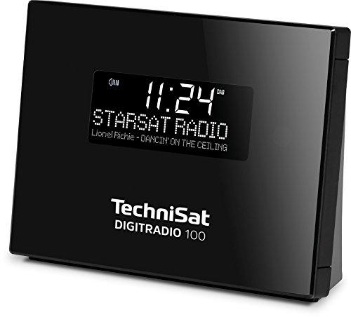 TechniSat DigitRadio 100 (DAB+ / UKW Empfangsteil, Bluetooth, Anschluss für externe Antenne, Sleeptimer, Wecker)