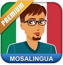 Italienisch lernen: MosaLingua Premium