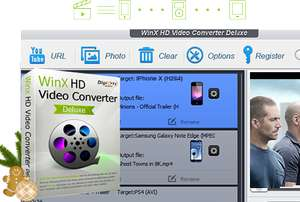 WinX HD Video Converter Vollversion