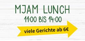 """Mjam """"Lunch"""" - Menüs um 6 € ohne Liefergebühr (Mo-Fr, 11-14 Uhr)"""