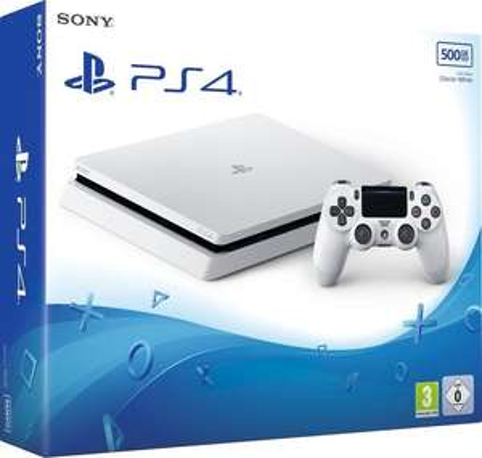 Sony PlayStation 4 Slim 500GB weiß / Sony PlayStation 4 Slim 500GB schwarz Fortnite Bundle für 197,41 €
