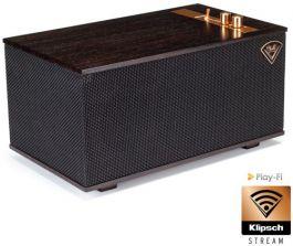 Klipsch Heritage The Three Ebony Ebenholz oder Walnut Multi-Room Streaming aptX Bluetooth WLAN