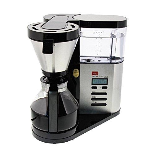 Melitta AromaElegance DeLuxe Filterkaffeemaschine (Glaskanne, Aroma Control, Timer)