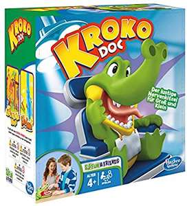 @Amazon Hasbro Gaming- Kroko Doc Kinderspiel um 7,99€ Bestpreis!