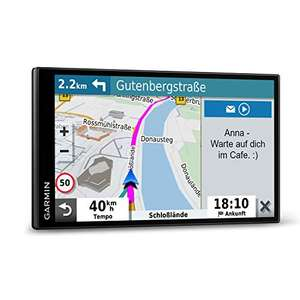 "Garmin DriveSmart 65 MT-D EU Navi (extragroßes 6,95"" Touch-Display, 3D-Navigationskarten, Live-Traffic via DAB+)"