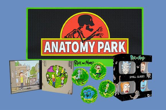 Rick & Morty Mega Merchandise Paket