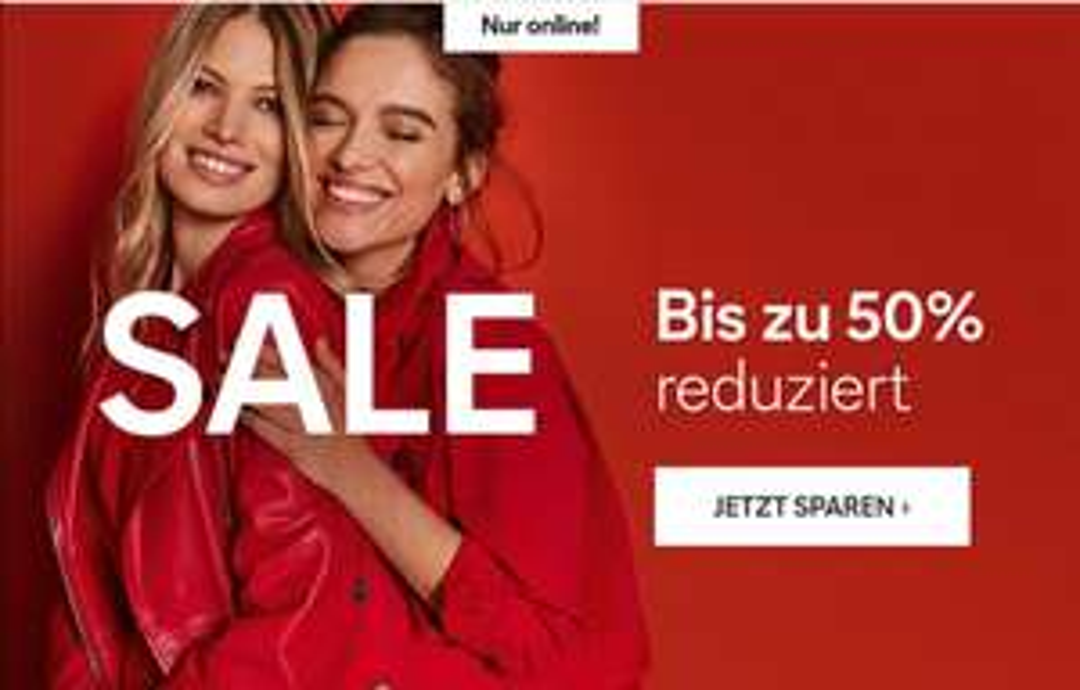 C&A Bis zu -50% Sale Nur Online