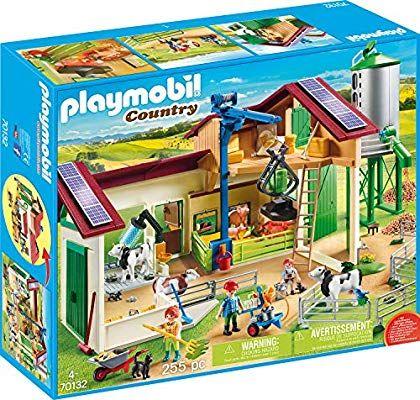 PLAYMOBIL Country 70132 Großer Bauernhof mit Silo
