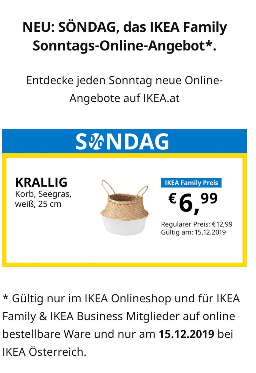SONDAG Angebote bei Ikea