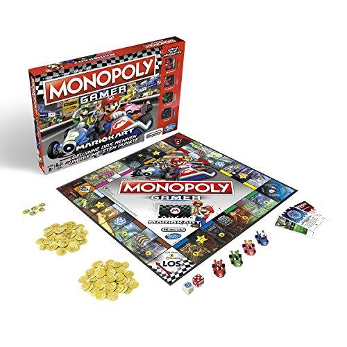 Monopoly Gamer Mario Kart, Gesellschaftsspiel für Erwachsene & Kinder