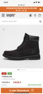 "TIMBERLAND 6"" Radford All Black"