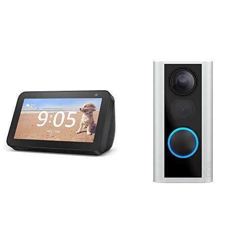 Ring Video Doorbell oder Ring Door View Cam inklusive einem Echo Show