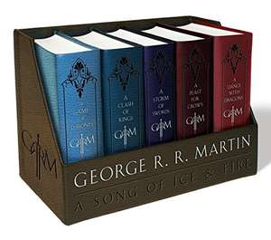 George R. R. Martin's A Game of Thrones Leather-Cloth Boxed Set (gebundene Ausgabe)