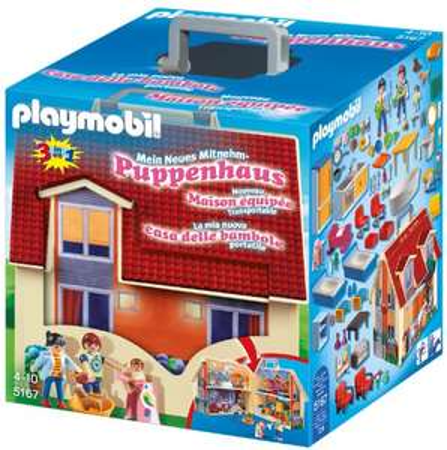 Playmobil Dollhouse - Neues Mitnehm-Puppenhaus