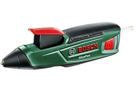 Bosch Akku Heißklebepistole GluePen inkl. 4 Klebesticks