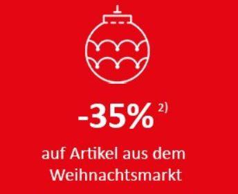 KIKA -35% auf Artikel aus dem Weihnachts-Markt