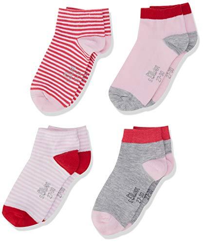 4 Paare s.Oliver Socks Mädchen Füßlinge Größe 39 PLUSPRODUKT