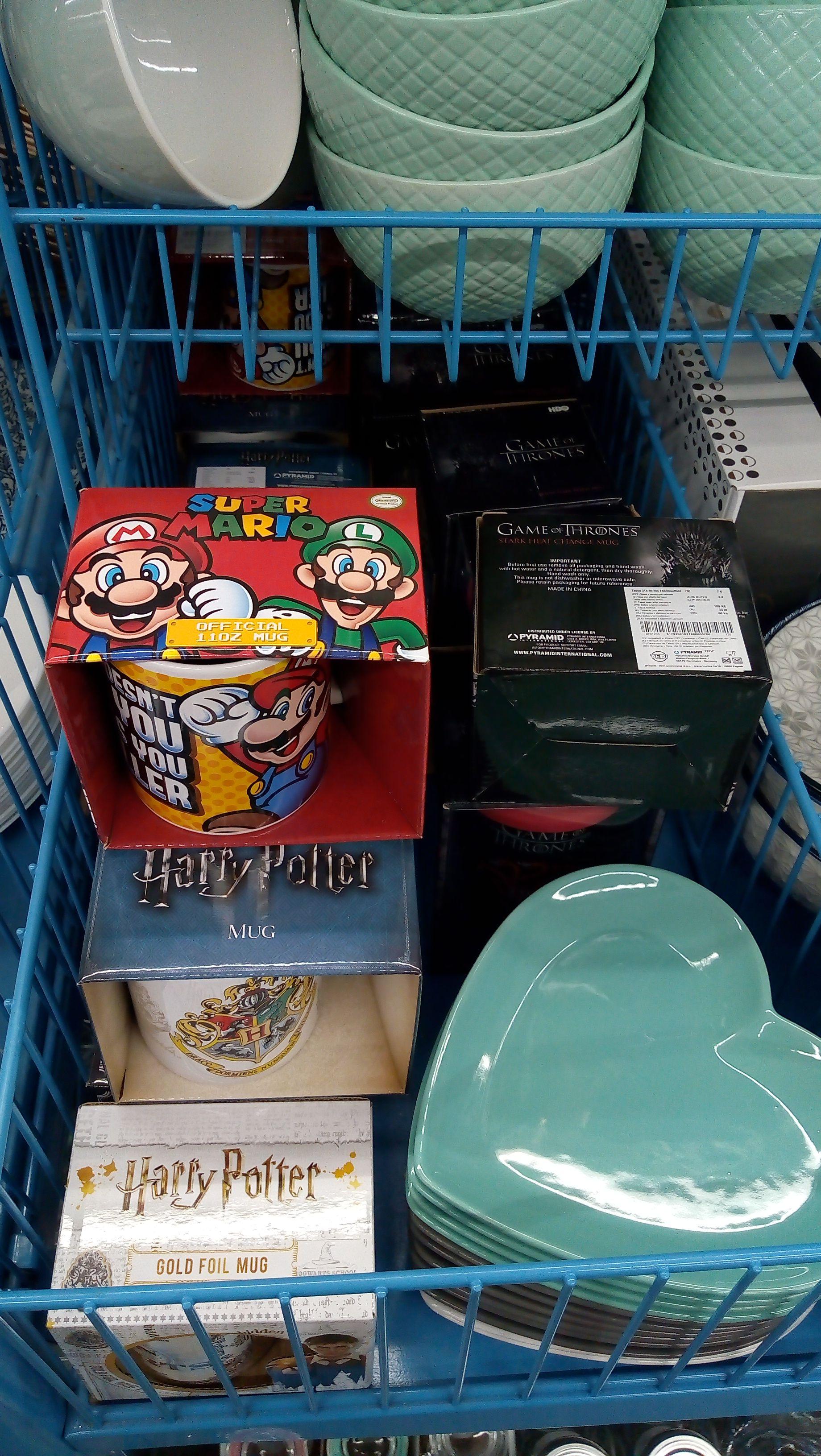 [Tedi] Verschiedene Tassen mit Super Mario, Harry Potter oder Game of Trones