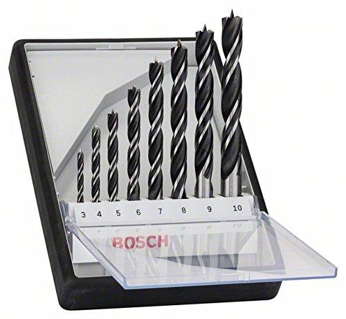 Bosch Professional Holzspiralbohrer-Set, 8-teilig
