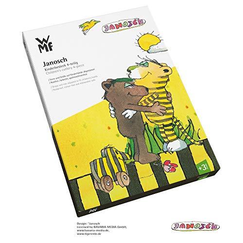 WMF Janosch Kinderbesteck 4-teilig