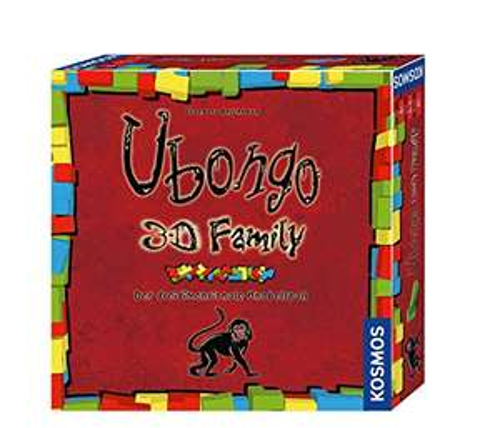 Ubongo 3-D Family - Der Action- und Knobelspaß für die ganze Familie als 3D Brettspiel