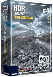 HDR Projects 4 Professional (Windows/Mac)