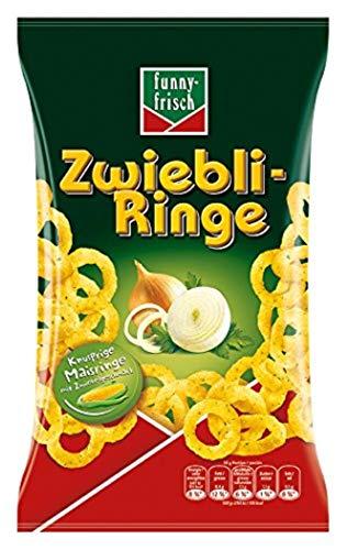 funny-frisch Zwiebli-Ringe,14er Pack (14 x 80 g)