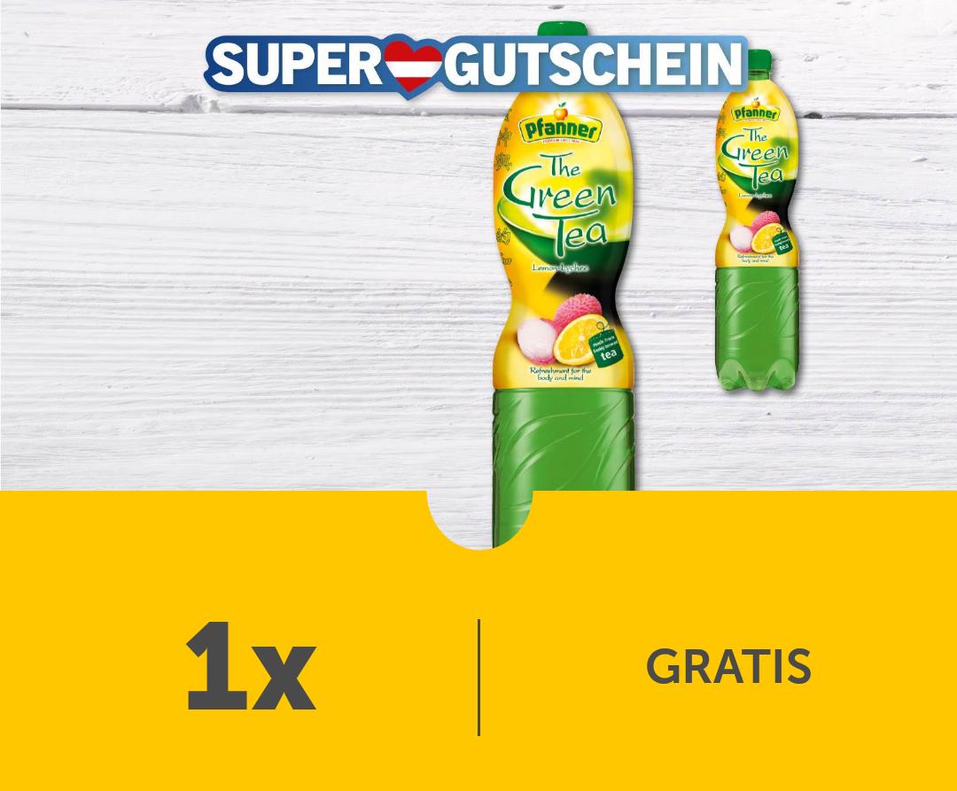 Gratis Pfanner Grüner Tee Zitrone-Lychee