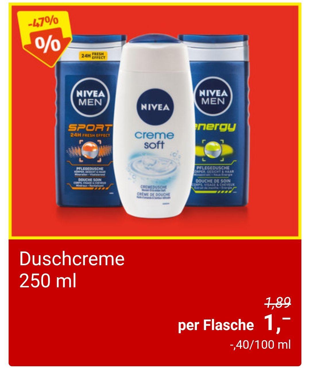 Nivea Duschgel Duschcreme 250ml