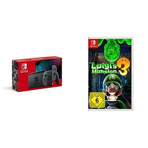Nintendo Switch + Luigis Mansion 3