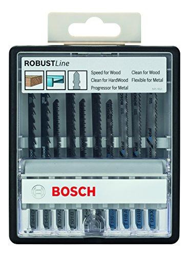 Bosch Professional - 10tlg. Stichsägeblatt-Set