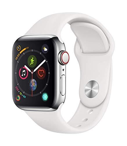 Apple Watch 4 (LTE, 40mm) in Edelstahl