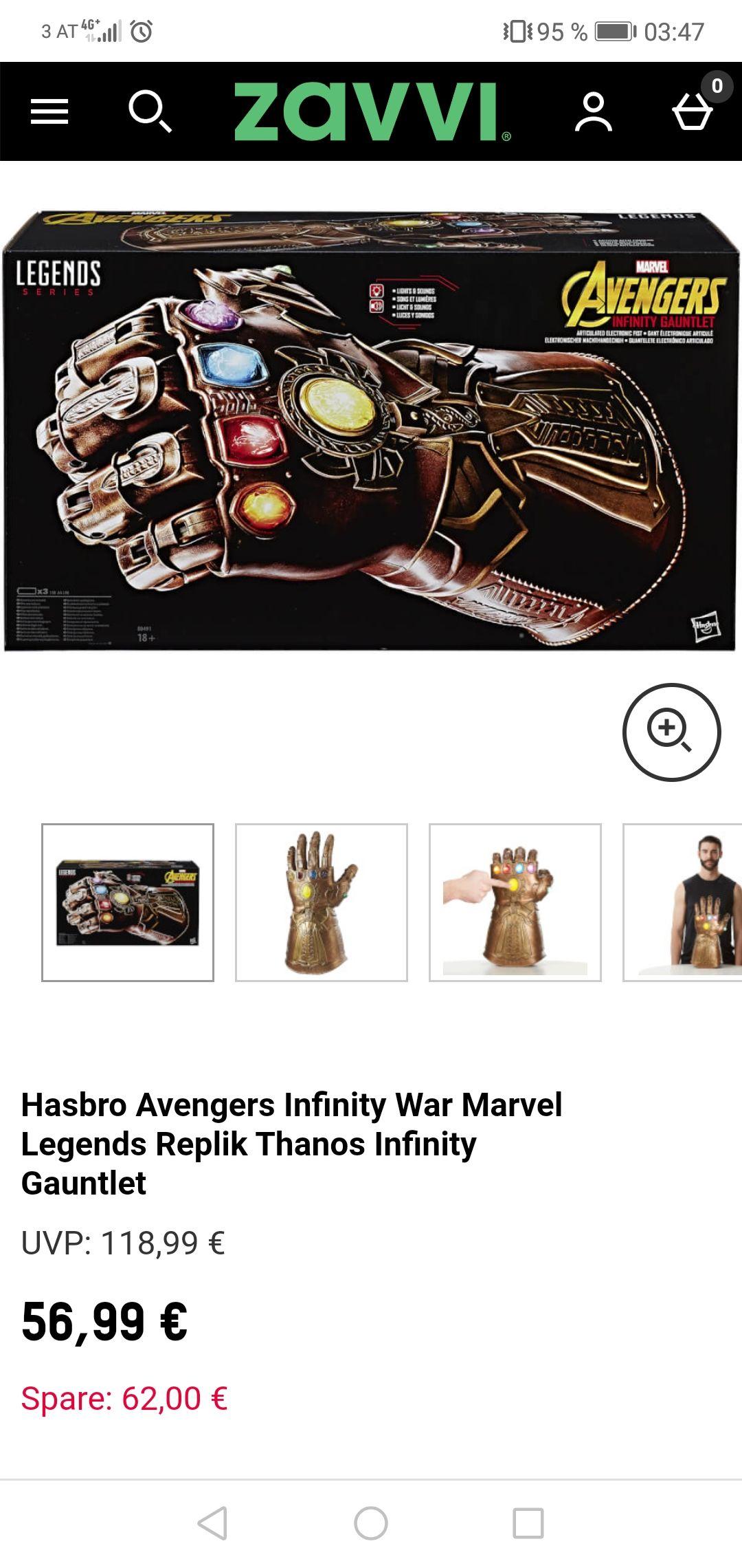 Hasbro (Legends Series) Infinity Gauntlet