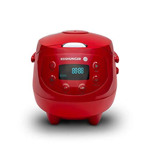 Digitaler Reishunger Mini Reiskocher (0,6l/350W/220V) mit Premium-Innentopf