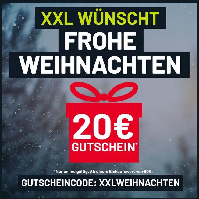 XXL-Sports wünscht frohe Weihnachten