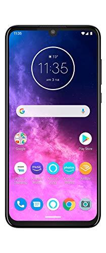 Motorola One Zoom Smartphone (Vierfach-Kamerasystem; 128 GB/4 GB, Android™ 9 Pie, Dual-SIM) Grau-Metallic Bestpreis um 299€