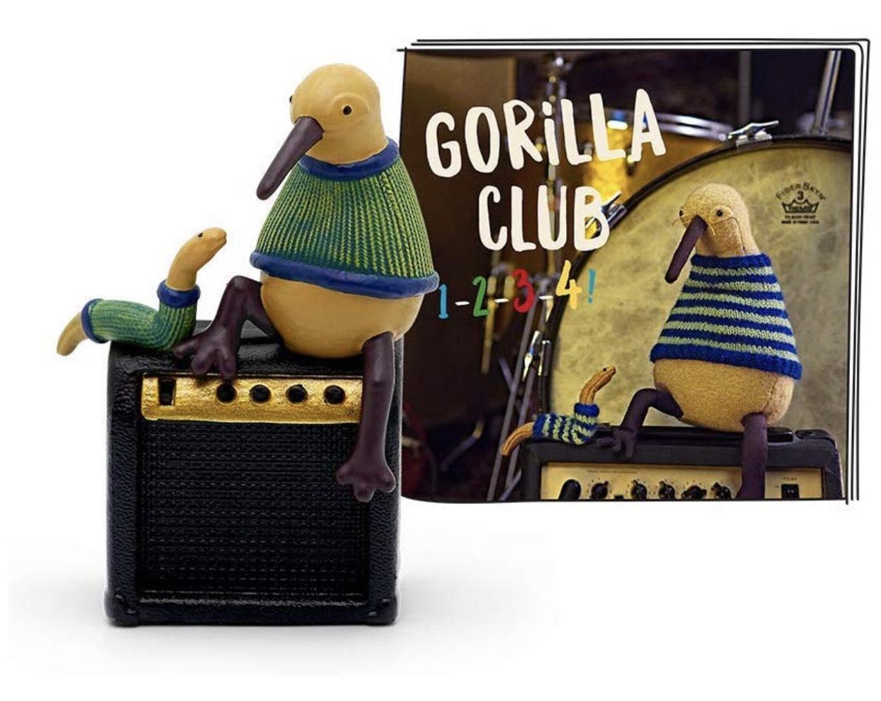 Tonie Hörfigur - Gorilla Club - 1-2-3-4!