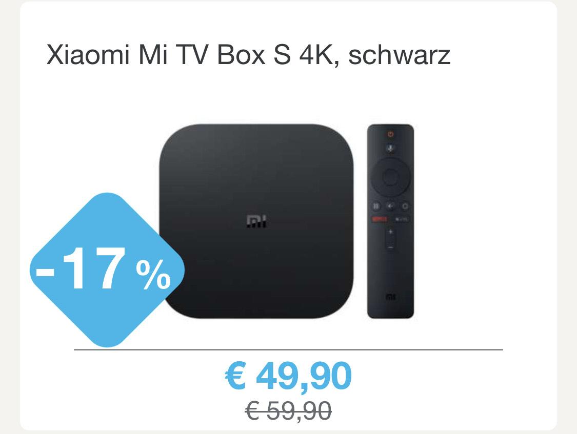 Xiaomi Mi TV Box S 4K, schwarz